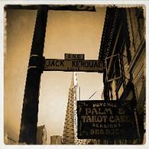 Jack Kerouac Street Sign